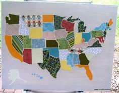 this map of the United States... Yes please!