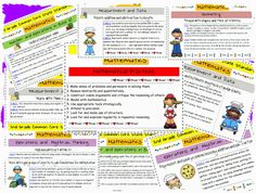 Common Core State Standards 2nd Grade Math FREE Printable Download