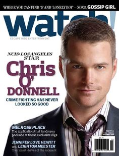 2009: Chris O'Donnell............Free Subscription: http://cbswatchmagazine.com/pinsub