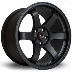 18 ROTA GRID BLACK 10J 5 stud 15 offset alloy wheels