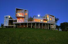 Casa Muelle - Jonas Retamal - Castro, Chile.