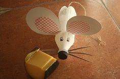 Pet şişeden fare yapımı
