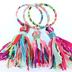 DIY Boho Tassel Bracelets