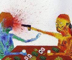 Art Work from Street Artist Neckface.