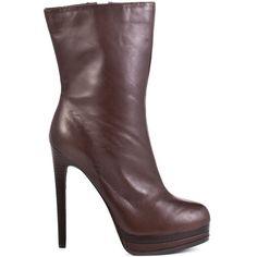 Boots Carlotta - Dark Brown Lea