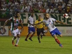 Blog Esportivo do Suíço:  Bahia faz 3 a 0 no Flu de Feira e amplia vantagem por vaga na final