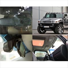 For hummer h2 Car front camera wifi DVR Car Video Recorder Novatek 96655 Dash Cam FHD 1080P Motion Detection night vision