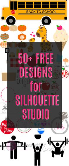 Want 50 free cut files from Silhouette School? Just tell us where to send them!! Click to enter your email and get your files now!