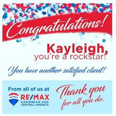 """RE/MAX Best Priced Properties on Instagram: """"Nothing better than receiving emails like this from #remax headquarters👍  #rockstar #realestate #realtor #agent #caribbean #centralamerica…"""" Realtor Agent, Central America, Caribbean, Real Estate, Instagram, Real Estates"""