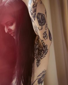 The Real Story Behind Grace Neutral& Tattoos+ Great Tattoos, Sexy Tattoos, Beautiful Tattoos, Body Art Tattoos, Tattoos For Women, Tattoo Girls, Girl Tattoos, Grace Neutral Tattoo, Armpit Tattoo
