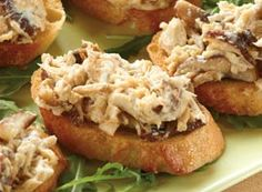 Jalapeño Tuna and Mushroom Crostini | Clover Leaf