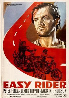 easy rider movie poster artwork. #movies #easyrider http://www.pinterest.com/TheHitman14/movie-posters-art-%2B/