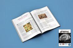 A business magazine design for a local businessmen's association.