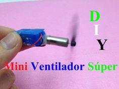 Como hacer un mini súper sencilla ventilador - Πώς να κάνει ένα μίνι σού...
