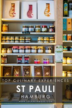 A guide to the best food and culinary experiences in St Pauli, an edgy neighborhood in Hamburg, Germany known for its hipster bars and lively theatres. Browse artisan cheeses at local delis, sample sweets at confectionaries, explore the red light district, and dine at trendy vegan cafes and traditional German restaurants. Food travel in Germany. | Geotraveler's Niche Travel Blog #Hamburg #Germany