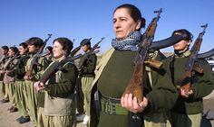Пешмерга - женский отряд
