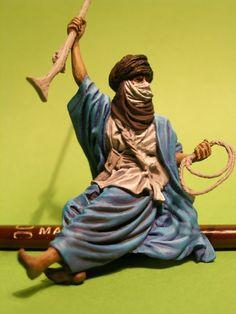 Wojownik Tuaregów – Andrea Miniatures, 54 mm   www.Figus.pl - figurki do sklejania