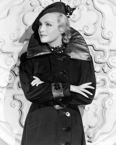 "British beauty and Hitchcock blonde, Madeleine Carroll, was one of Lilly's special favorites. Lilly heralds Madeleine as ""not only beautiful, (but) a real and genuine person, unselfish and brave."""