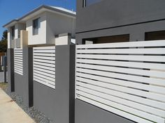 Privacy Aluminium Slat Fencing