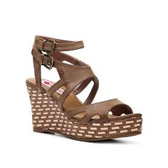 Two Lips Biscayne Wedge Sandal DSW.com