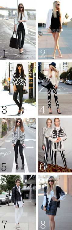 SPRING 2013 = Monochromatic. Can we please wear this madness to work?!? Haha!!