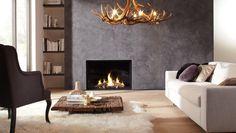 Centro 100 Gas Fire | Dru Gas Fire Range | Dru Built-In Gas Fires | Gas Fires | Newbridge Heating