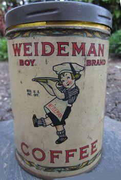 Weideman's Boy Brand Coffee
