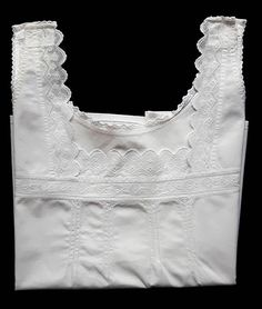 Vintage  Cotton Womens Nightgown Top Undershirt