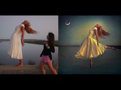"Tutorial: Creating ""Moonlight Glow"" on Photoshop Actions Photoshop, Photoshop Youtube, Photoshop Tutorial, Adobe Photoshop, Photoshop Ideas, Levitation Photography, Photoshop Photography, Photography Tutorials, Photoshop Celebrities"