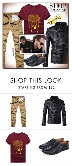 """""""Newchic (23/XII)"""" by dorinela-hamamci ❤ liked on Polyvore featuring Pocket Sport, men's fashion and menswear"""