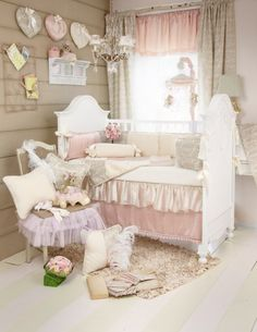 Bring a bit of Victorian style to your little ones room with the Love Letters collection.