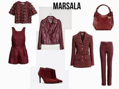 Style Statement   Blog de Moda   Portugal   Fashion, Beauty & Lifestyle: MARSALA   SUGESTÃO DE PEÇAS   burgundy, marsala