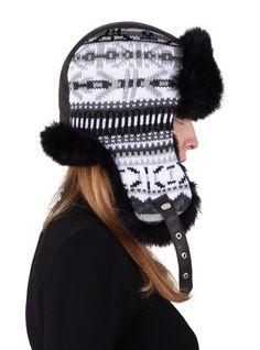 Indi Hat black&white by GENA