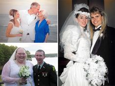 Awkward Engagement and Wedding Photos