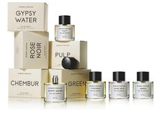 Gypsy Water Byredo perfume - a fragrance for women and men 2008 Skincare Packaging, Perfume Packaging, Cosmetic Packaging, Beauty Packaging, Brand Packaging, Design Packaging, Simple Packaging, Product Packaging, Cosmetic Design