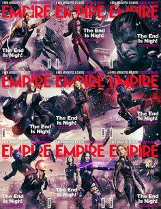 Empire magazine covers for X-Men Apocalypse - 9GAG