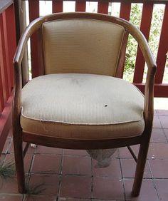 Cadeiras Vintage - Antes e Depois   Artesanato e Decoração