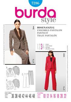 Simplicity Creative Group - Burda Style, Pantsuit