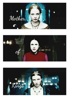 The White Queen, The Red Queen and the Kingmakers Daughter