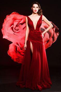 Rochii de seara Roses & Shoes model Spanish Rose