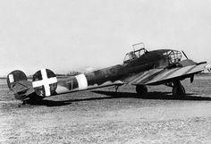 Aircraft - France, Avion français de reconnaissance Potez 63.11 A3 de prise avec des marquages d'identification italiens