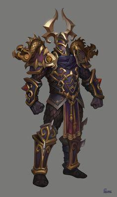 Warrior by Arthur Gimaldinov. Character Outfits, Game Character, Character Concept, Character Design, Armor Clothing, Medieval Clothing, Fantasy Armor, Medieval Fantasy, Rpg Cyberpunk