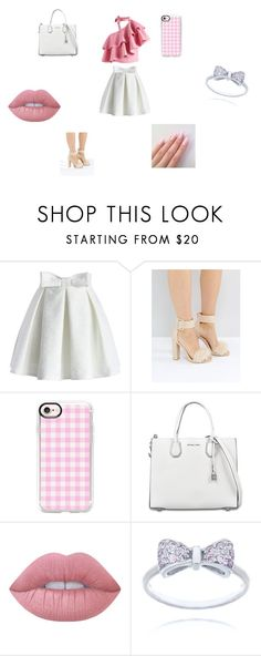 """""""Picnic"""" by wjazmine878 on Polyvore featuring Chicwish, Public Desire, Casetify, MICHAEL Michael Kors, Lime Crime, cute, Beauty and girly"""