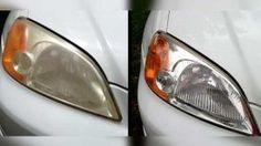 Faites briller les phares de votre voiture en 10 minutes avec cette Astuce Géniale…