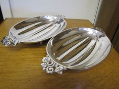 silver serving dishes   Pair of Tiffany & Co. Sterling Silver Serving Dishes from ...