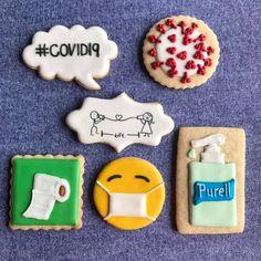 Iced Cookies, Cute Cookies, Royal Icing Cookies, Birthday Cookies, Birthday Favors, Birthday Ideas, Beef Sliders, Summer Cookies, Cookie Designs