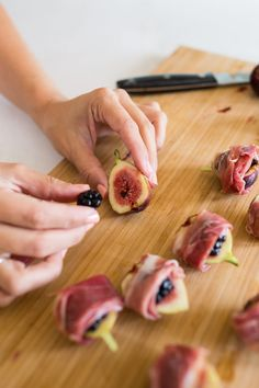 Peanuts with wasabi - Clean Eating Snacks Fig Appetizer, Gourmet Appetizers, Appetizers For Party, Appetizer Recipes, Tapas, Fig Recipes, Cooking Recipes, Cooking Tips, Appetisers