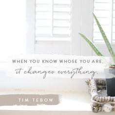When life throws us curve balls or shatters into tiny bits before our eyes, it's easy to doubt ourselves, God's plan, even God Himself. But when we're hurt, disappointed or frustrated by the negative side of thwarted plans, crushed dreams and painful losses, we can still hold on to God's truth. Tim Tebow