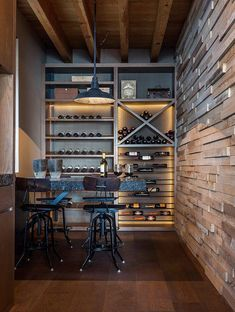 Wine cellar inspiration {wine glass writer}