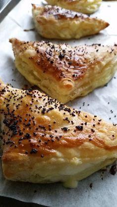 Tiropitas~ Greek Cheese Pastry #Sundaysupper